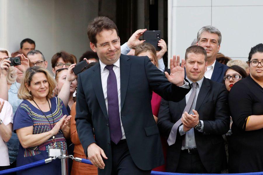 L'ancien ministre de l'Intérieur Matthias Fekl (PS) a été éliminé dimanche au premier tour de l'élection législative dans la deuxième circonscription de Lot-et-Garonne.