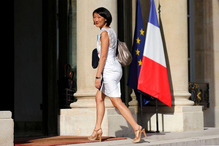 Fleur Pellerin arrive à l'Elysée. En tant que ministre déléguée à l'Innovation et à l'Economie numérique, elle se retrouve en première ligne pour défendre sa vision de la France en 2025.