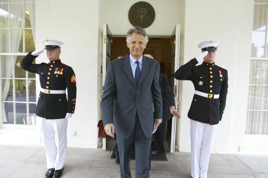Juillet 2002, toujours, à Washington : l'Irak est déjà au coeur des débats