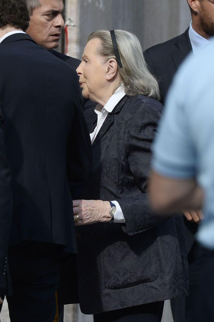 Jeanne Joly, l'épouse de Charles Pasqua