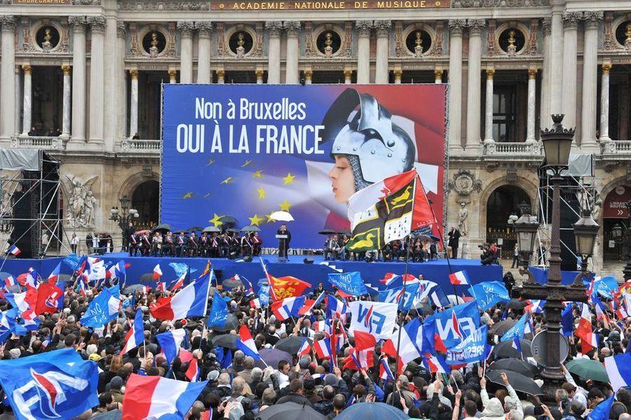 Premier meeting en vue des élections européennes