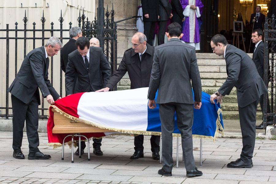 Les obsèques de Jacques Barrot à Paris