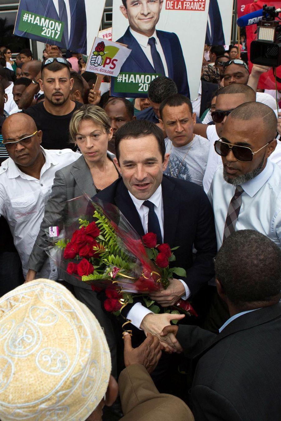 Benoit Hamon En Campagne À La Réunion 1