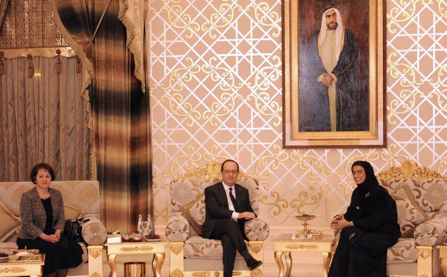François Hollande En Visite À Abou Dhabi 3