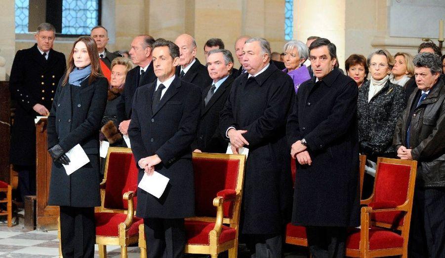 Nicolas Sarkozy a rendu hommage à Philippe Séguin par un discours très émouvant sur l'homme et son combat politique.