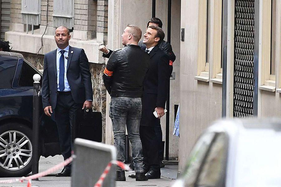 Emmanuel Macron à Paris, le 8 mai 2017.