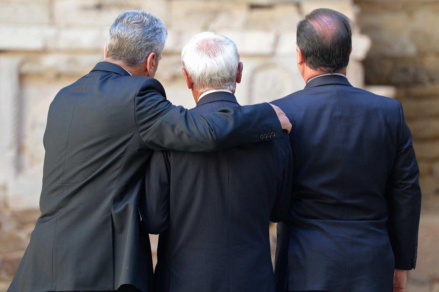 Le périple rédempteur du président allemand à Oradour