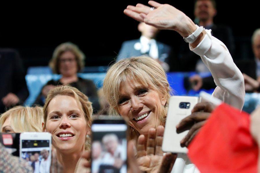 Brigitte Macron et sa fille Tiphaine Auzière.