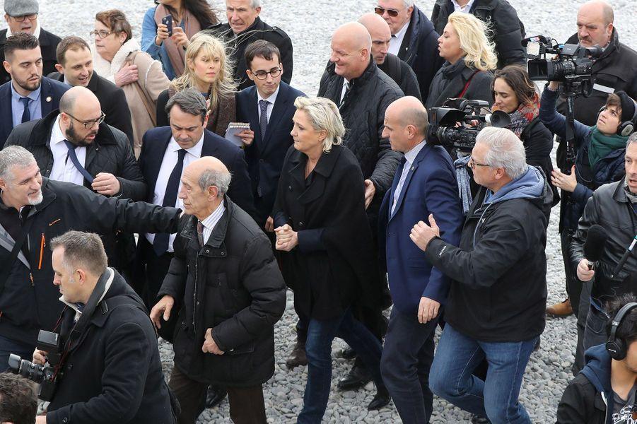Marine Le Pen était à Nice lundi