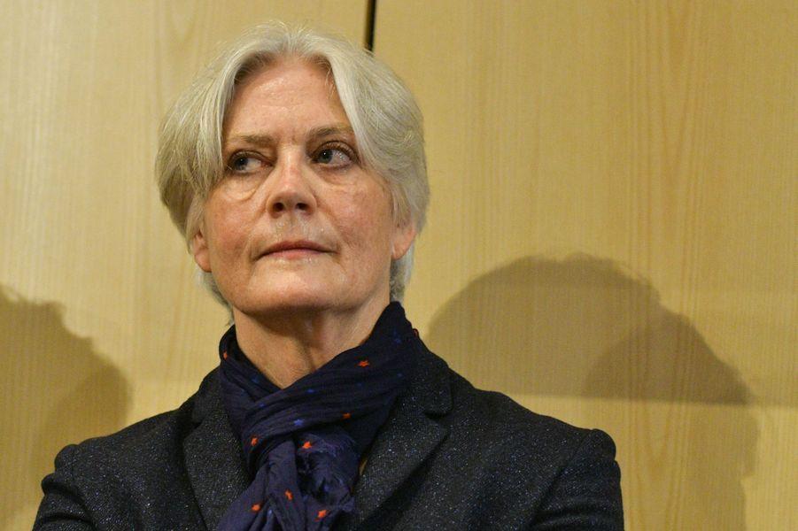 Penelope Fillon, mardi, à la maison de l'Amérique latine à Paris.