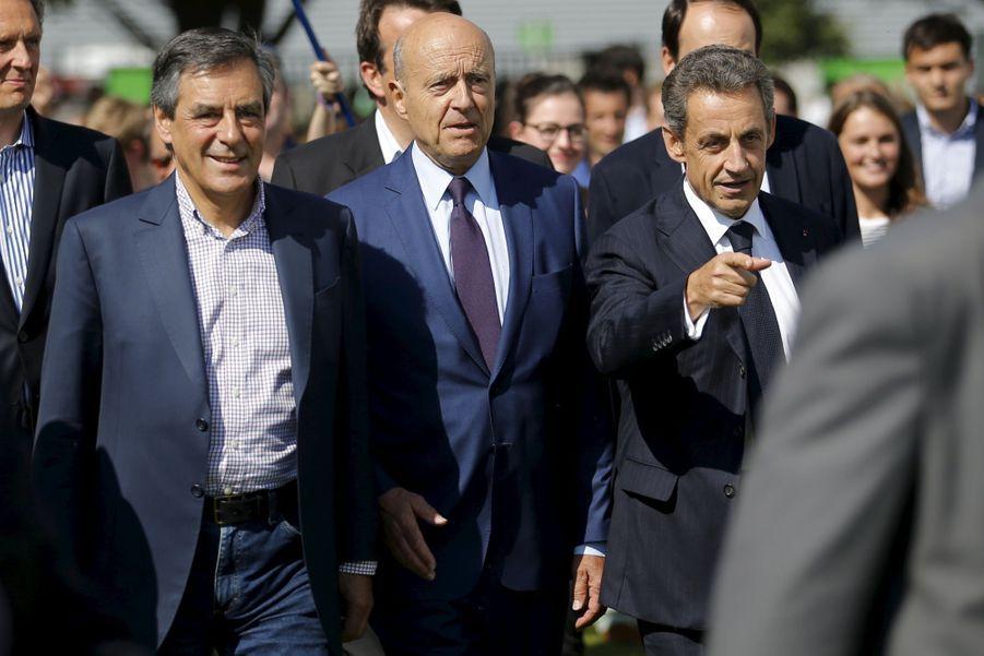 Sarkozy, Juppé et Fillon, la photo de famille