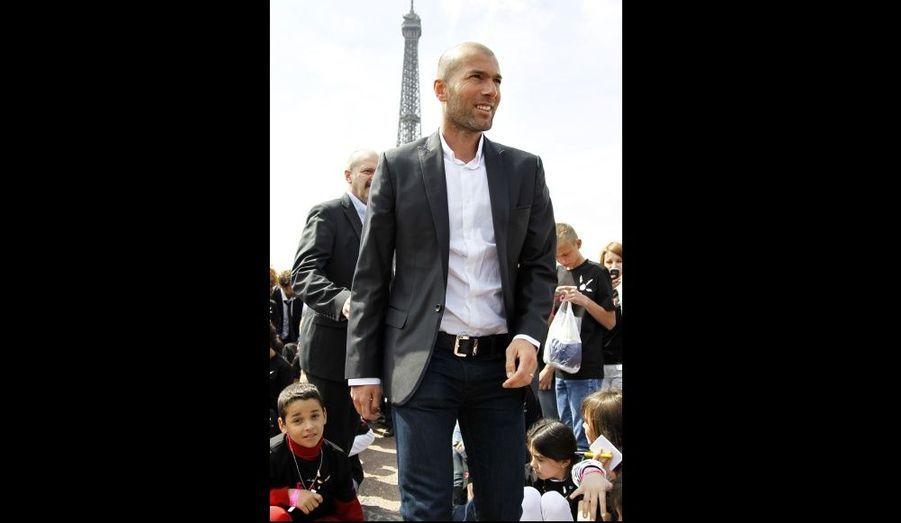 Depuis plus de dix ans, Zinedine Zidane est l'un des principaux parrains de l'association ELA.