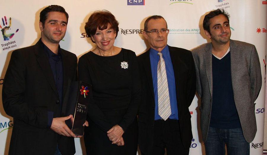 Olivier Nakache et Eric Toledano récompensés par Roselyne Bachelot