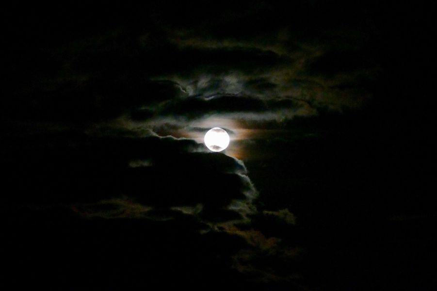 La Super Lune.