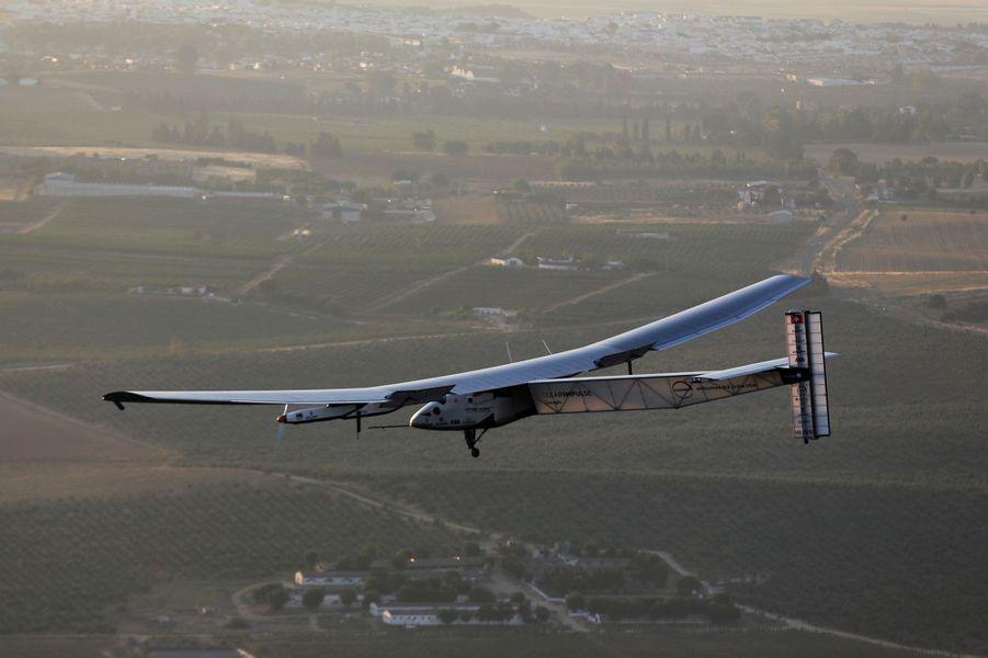 Solar Impulse a atterri en Espagne