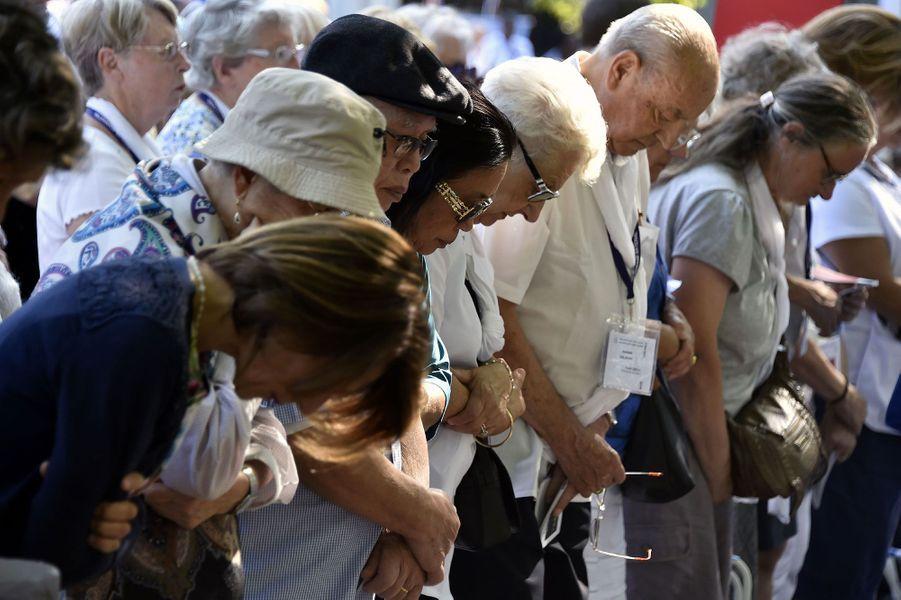 22 000 croyant été réunis à Lourdes lundi 15 août pour l'Assomption