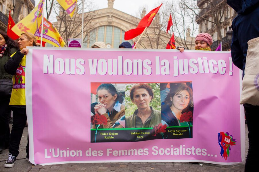 Manifestation Paris kurdes 7
