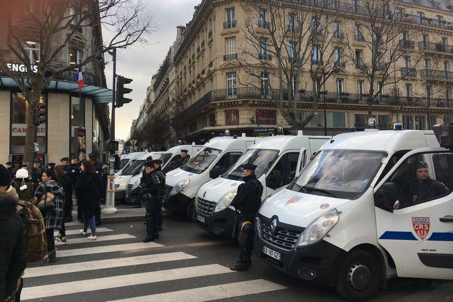 Manifestation contre les violences policières à Paris, le 18 février 2017.