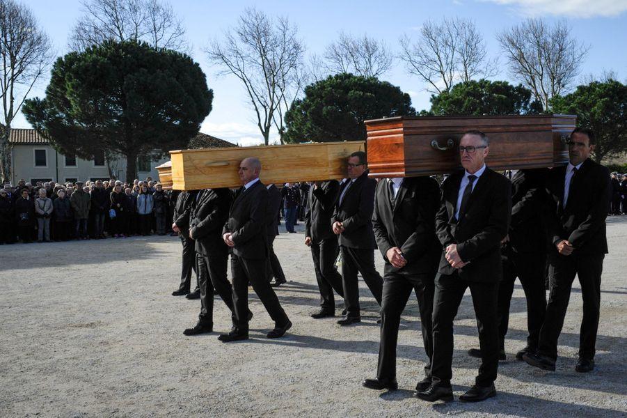 Jeudi matin, dans les arènes de Trèbes, dans l'Aude, la République a rendu hommage aux trois victimes civiles de l'attaque commise vendredi dernier, Jean Mazières,Christian Medves etHervé Sosna.