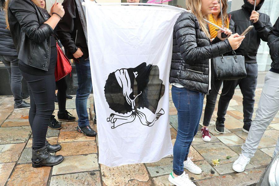 Bastia : une manifestation de soutien à des nationalistes condamnés à Paris a dégénéré, le 15 octobre 2016.