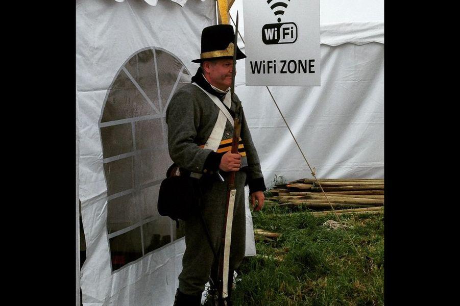 En direct de la bataille de Waterloo