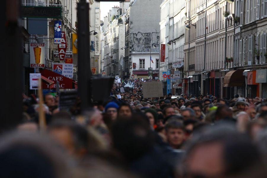 La marche républicaine dans l'œil de Pierre Terdjman
