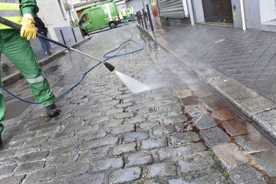 Le jour d'après dans les rues de Paris