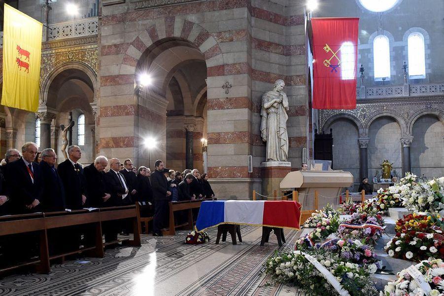 Les adieux à Edmonde Charles-Roux, à Marseille, le 23 janvier 2016