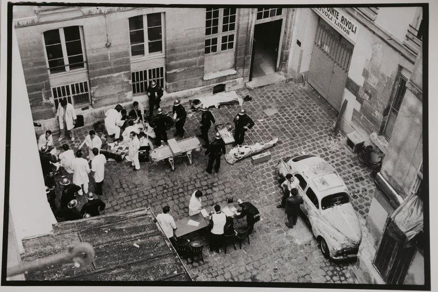 Rue des Rosiers. Les images de l'attentat