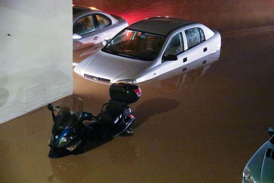 Les premières photos des inondations