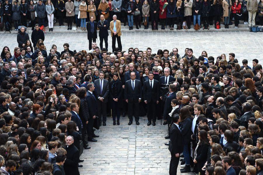 François Hollande à La Sorbonne