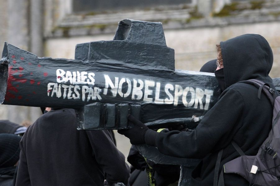 """250 personnes ont défilé contre """"les armes de la police"""" et en hommage à Rémi Fraisse"""