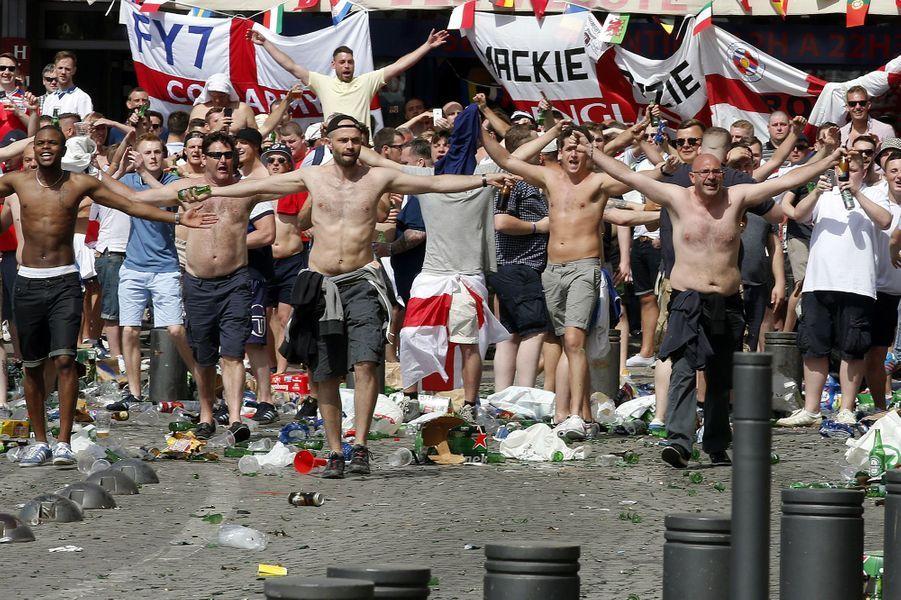 Euro-2016: nouveaux incidents au Vieux-Port de Marseille, ce samedi.