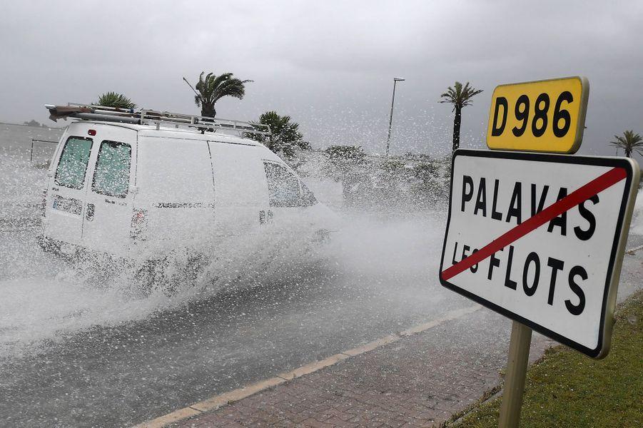 Palavas-les-Flots, dansl'Hérault.
