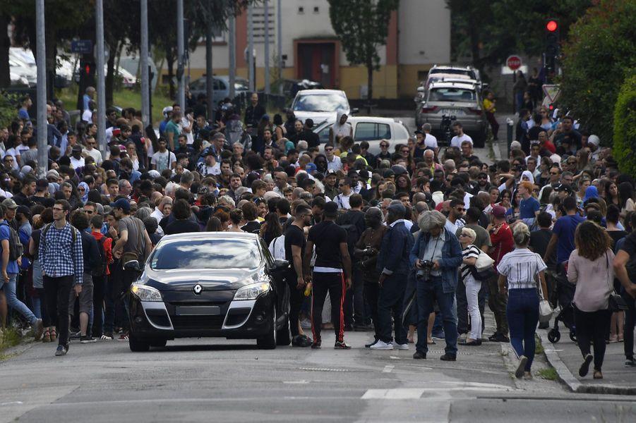 Un millier de personnes étaient réunies jeudi à Nantes en mémoire d'Abou, jeune homme de 22 ans tué lors d'un contrôle de police
