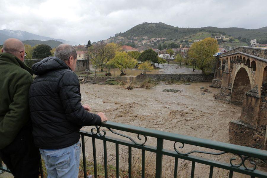 Image prise à Ponte-Leccia, en Haute-Corse.