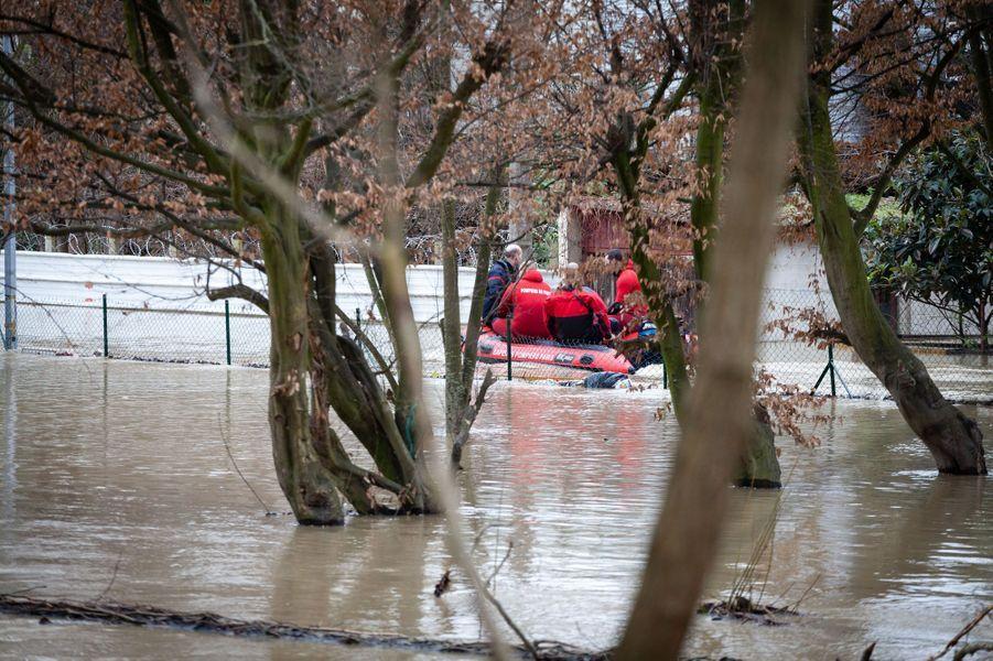 Les inondations à Villeneuve-Saint-Georges
