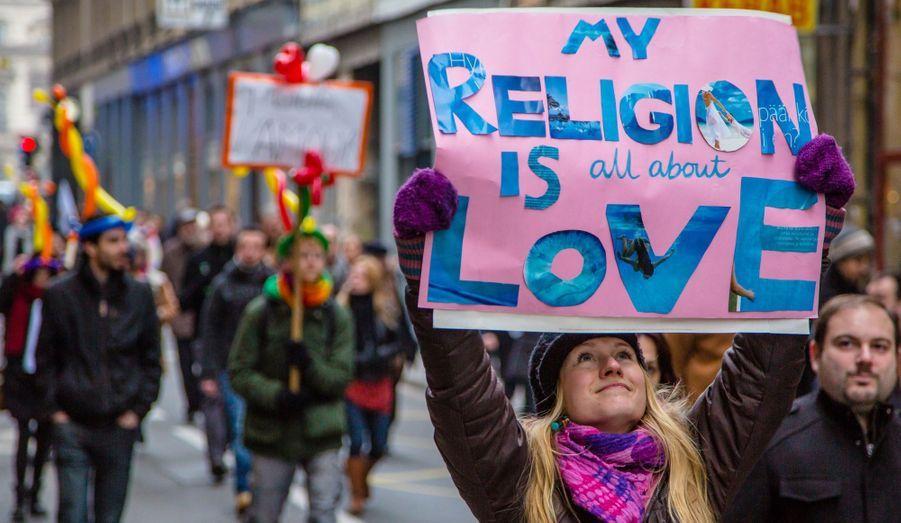 """""""Ma religion n'est qu'amour"""""""