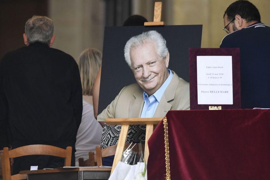 Les obsèques de Pierre Bellemare, jeudi, à Paris