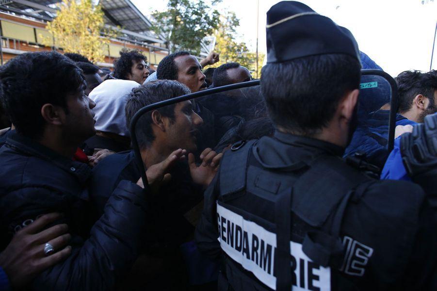 Les migrants évacués vont être logés dans 70 centres d'hébergement en Ile-de-France