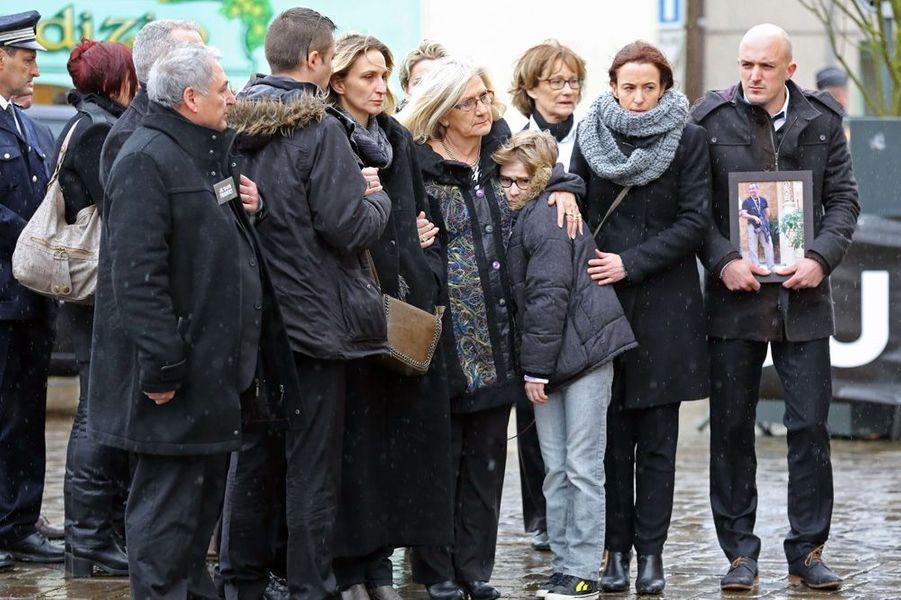 La famille de Franck Brinsolaro