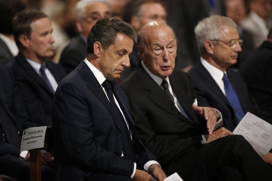 Nicolas Sarkozy et Valéry Giscard d'Estaing