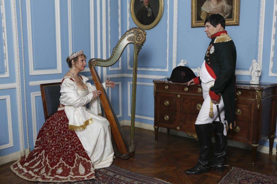 L'empereur n'était pas spécialement mélomane, mais il aodrait Joséphine... qui adorait Boieldieu, le grand musicien du règne.