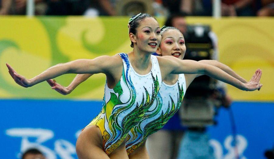 Les soeurs Jiang (natation synchronisée)