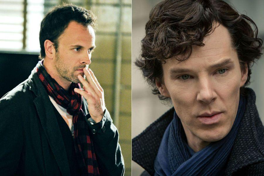 """Elementary"" et ""Sherlock"", adaptées des aventures de Sherlock Holmes écrites par Sir Arthur Conan Doyle"