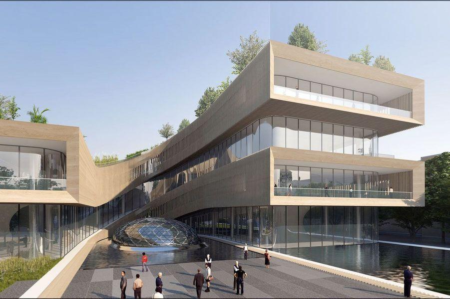 La capitale italienne vue par l'architecte belge Vincent Callebaut.