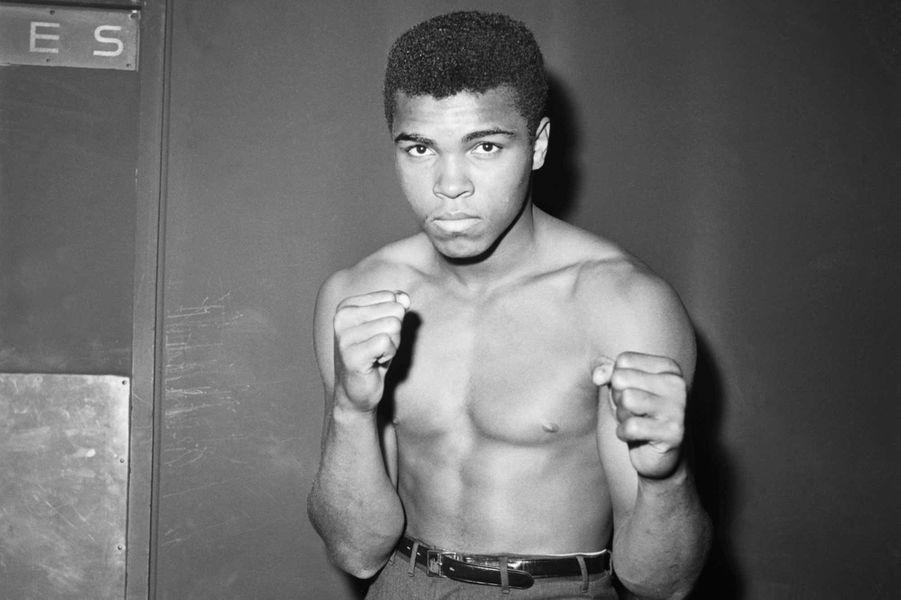Mohamed Ali à 20 ans -il s'appelait encore Cassius Clay
