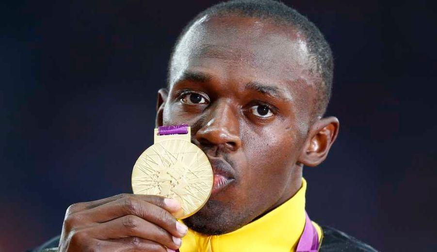 L'homme le plus rapide du monde a conservé sa couronne en remportant la finale du 100 m.