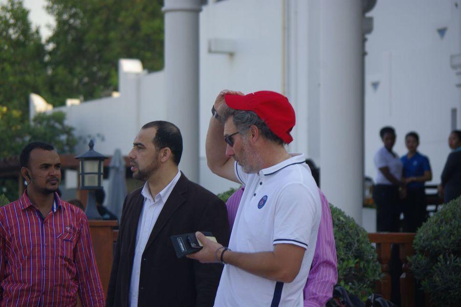 A Doha, les joueurs du PSG en toute décontraction