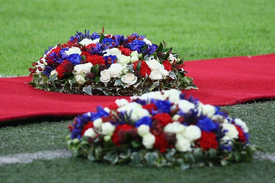 Des fleurs aux couleurs des deux pays